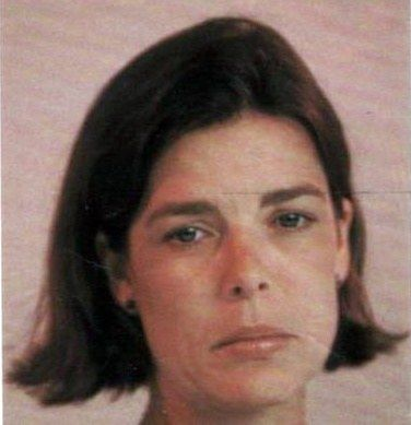 Caroline of Monaco in 1991, the year after Stefano died