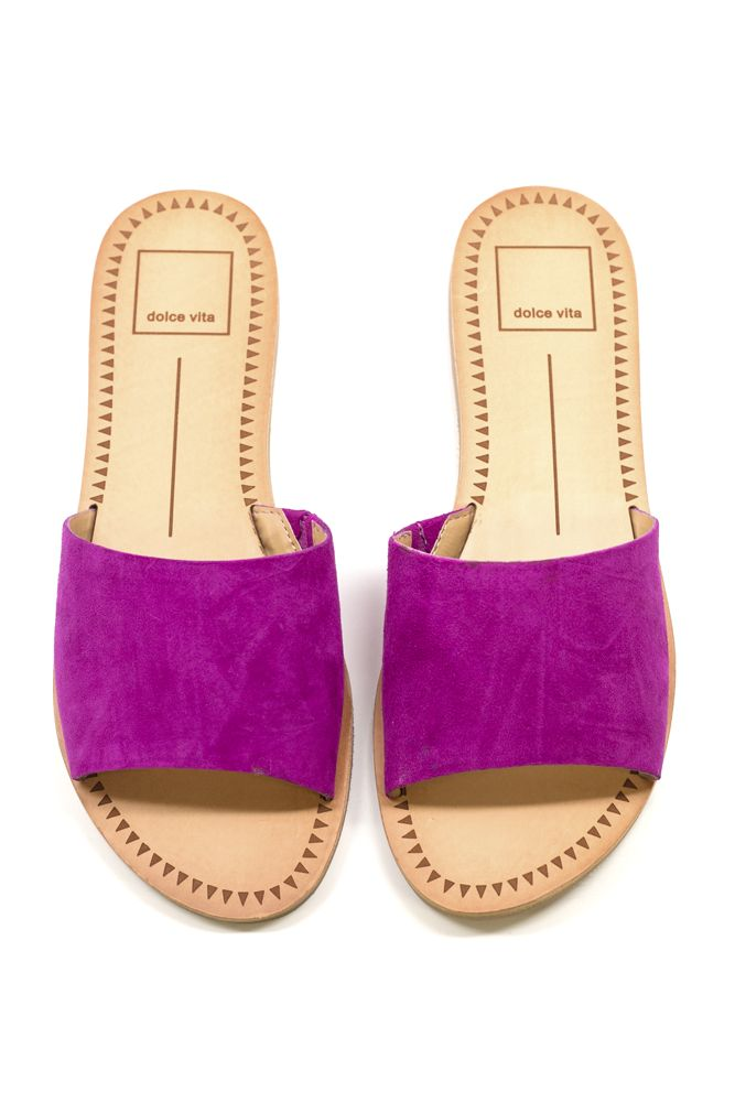 Slip these sandals on with a maxi dress or jeans.