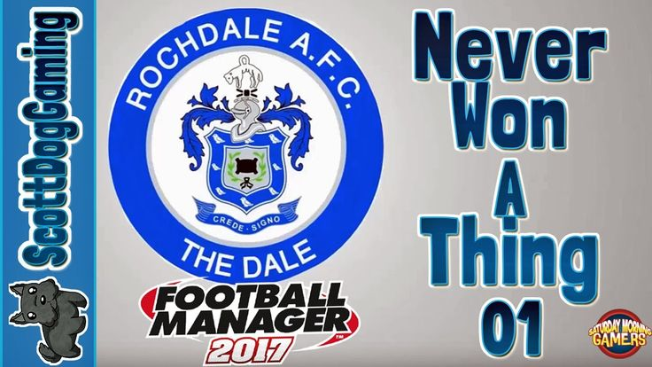 Football Manager 2017 Never Won A Thing Episode 1 ScottDogGaming  http://youtu.be/lfeZKTNrl98 Football Manager 2017 Never Won A Thing Episode 1 ScottDogGaming We take the helm at Rochdale FC a team who have never won a trophy. We aim to change that... Can we succeed? Take control of your favourite football team in Football Manager 2017 the most realistic and immersive football management game to date. Its the closest thing to doing the job for real! With over 2500 real clubs to manage and…