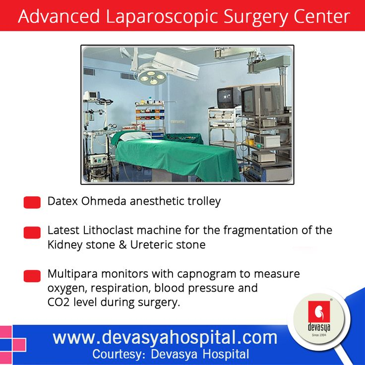 Devasya Hospital's Advanced Laparoscopic Surgery Center which is a jewel with all ultra modern facilities and equipped with   - http://www.devasyahospital.com/amenities/#other-facilities