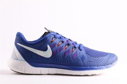 Nike Erkek Lacivert Free 5.5 Esnek Taban Koşu Yürüyüş Ayakkabısı