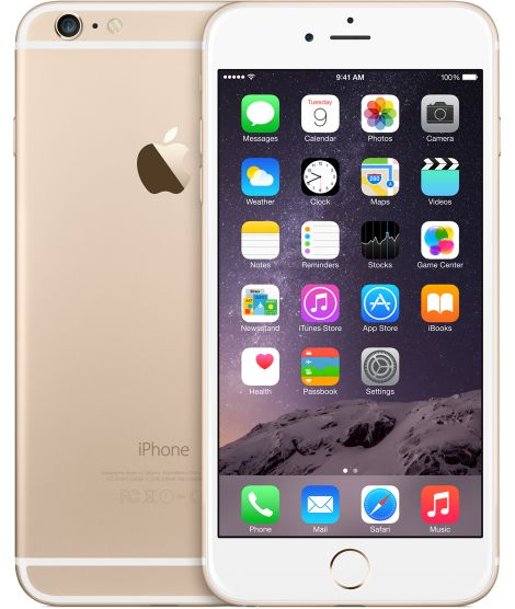 iPhone 6 plus in gold