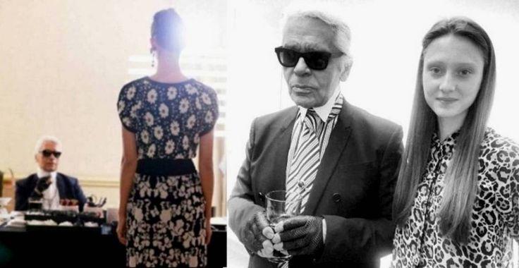 Evelina Szamszoncsik - Karl Otto Lagerfeld - Chanel