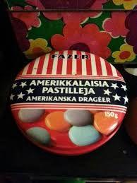 Amerikkalaisia pastilleja