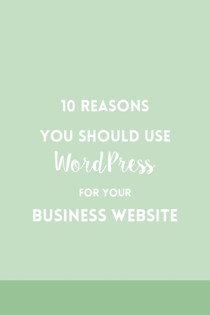 10 reasons why you should build a WordPress website if you are a small business owner or a creative entrepreneur