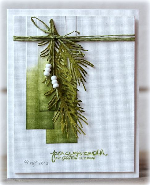 SC451 Peace by Biggan - Cards and Paper Crafts at Splitcoaststampers