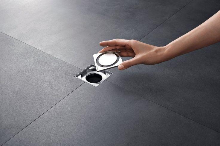 Geberit vloer-afvoerput, eenvoudige te reinigen