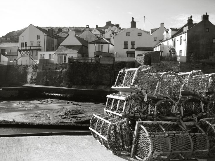 Fishing in Staithes