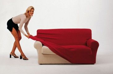 Чехол на диван универсальный и на резинке. Как сшить чехол на диван и кресла своими руками