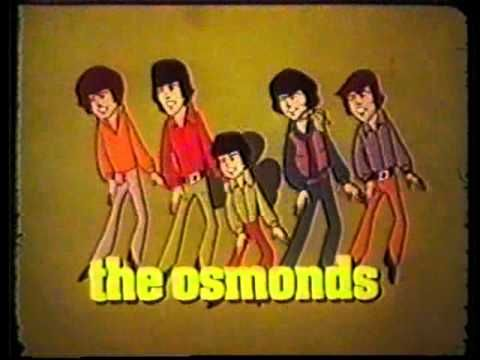 70's Jackson 5 & Osmonds animated cartoon commercial Saturday Mornings on ABC