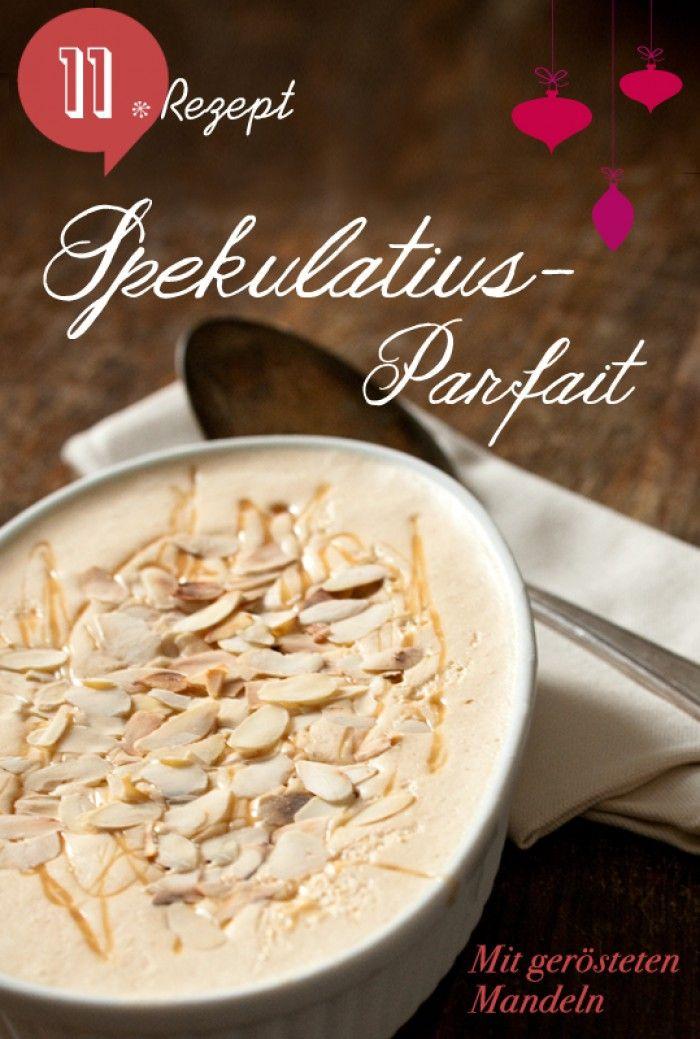 Spekulatiusparfait zu Weihnachten. Noch mehr Rezepte gibt es auf www.Spaaz.de