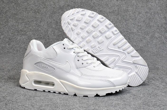 Billig Nike Air Max 90 Weiß