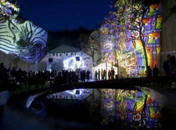 Night Projection fényfestés - Feszt!Eger 2014