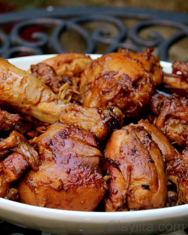 Fritada de gallina or Ecuadorian braised chicken - Laylita's Recipes