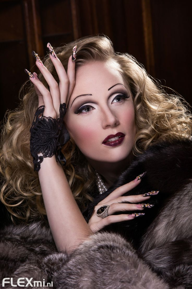 Campaign for Magnetic Nail Design. In Marlene Dietrich ...