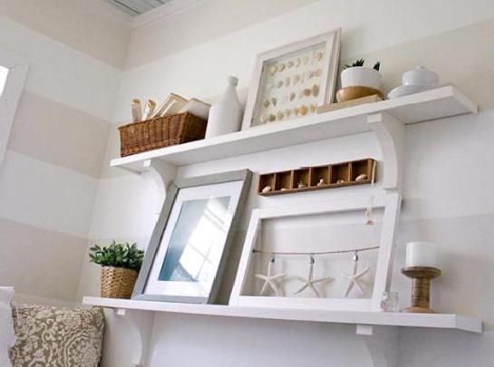 wall shelving ideas for living room home decor pinterest
