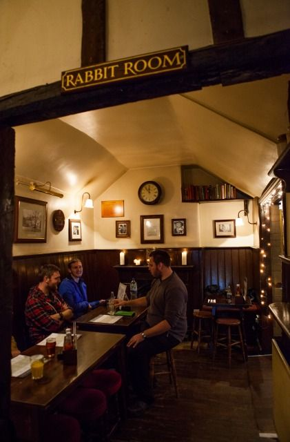 Photo of Eagle and Child, Oxford: Rabbit Room... This is where Tolkien and Lewis would get together and talk weekly. Can you imagine listening to those conversations???