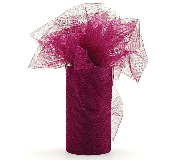 Our wine tulle is the perfect match for Marsala, Pantone Color of the Year 2015. #burtonandburton #PantoneColoroftheYear #marsala
