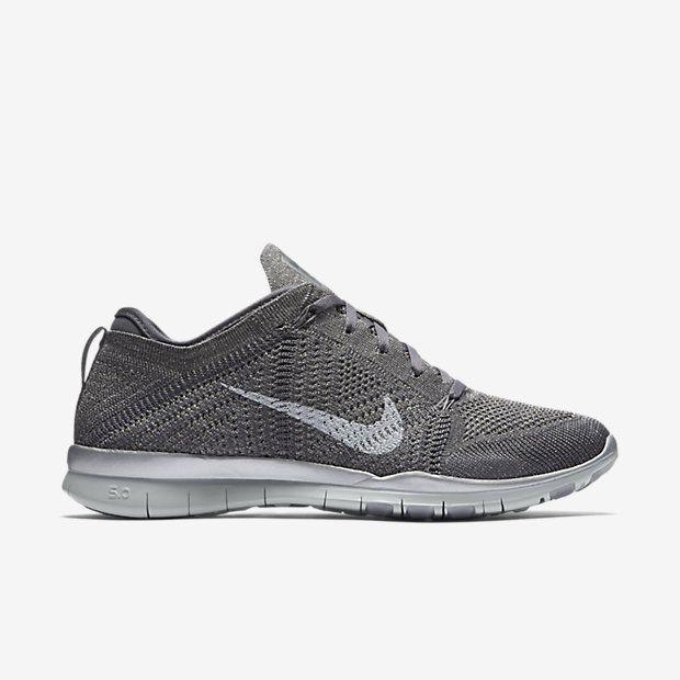 Nike Free TR 5 Flyknit Metallic Women's Training Shoe