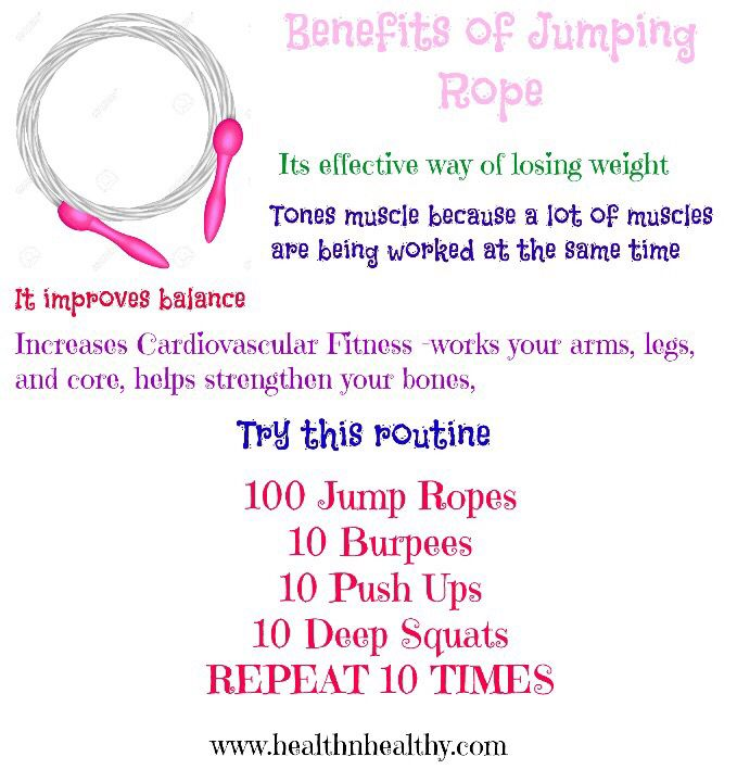 benefits of skipping for weight loss