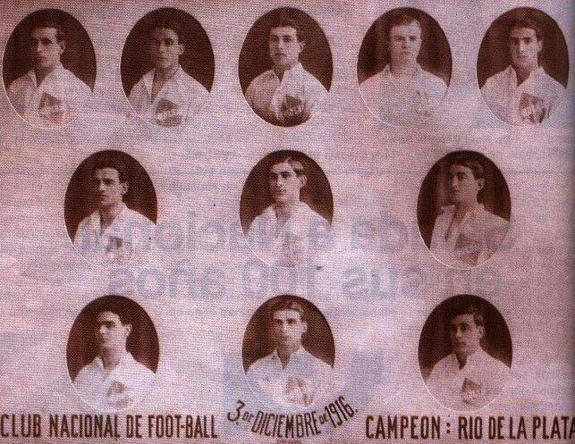 CD Nacional of Uruguay in 1916.