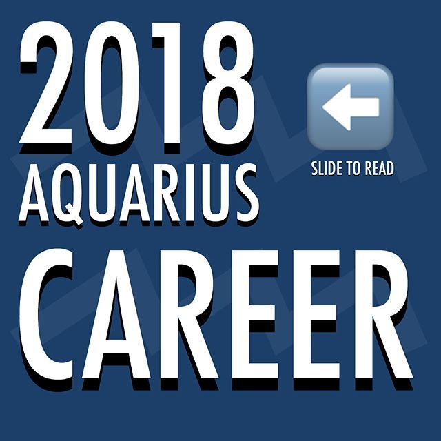 2018 #Astrology Predictions / Guidelines for CAREER for Aquarians. . 💜 Remember to look up the 'Predictions' / Guidelines for your Ascendant sign, and Moon sign too. (If you don't know them search online 'free ascendant calculator' and 'free moon sign calculator' and then research 2018 and those signs, eg Pisces and love 2018... Scorpio and Career 2018. 💜 . #ClassicAquarius #Aquarius #Aquarian