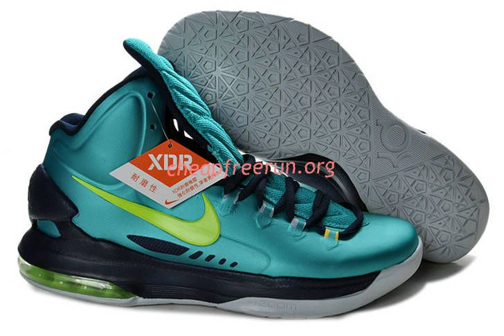 New Nike Zoom KD V Kevin Durant 5 Shoes For Sale Hulk Atomic Teal Volt Dark