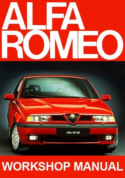 alfa romeo 155 workshop manual free carmanualsdirect pinterest rh pinterest com alfa 155 q4 workshop manual Alfa 145