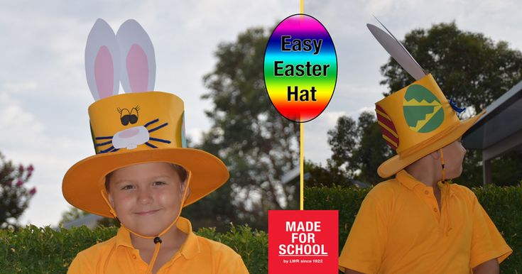 Here's an Easter Hat for the parade that is quick, easy and reusable - winning!  Natalie