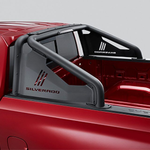 2020 Chevrolet Silverado 1500 Bed Sport Bar Silverado Script 84571746 Gm Parts Club In 2020 Chevy Accessories Chevy Silverado Accessories Truck Accessories