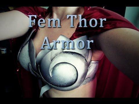 How to Make Female Thor's Breastplate