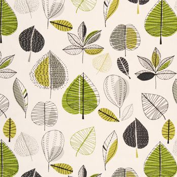 mid-century modern inspired : Maple Curtain Fabric...I remember this one! Might have been in the living room, lol!