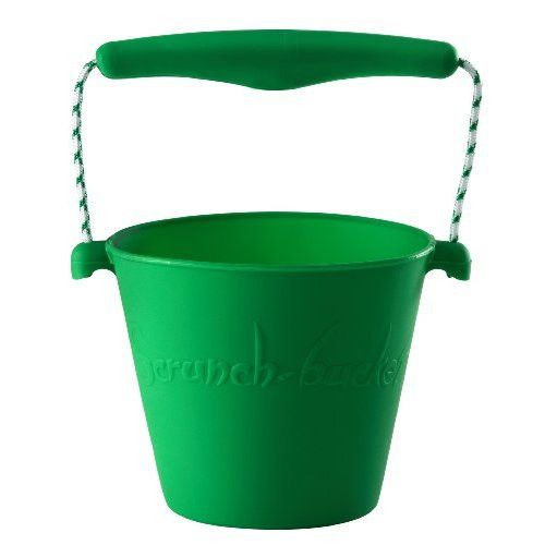 Scrunch Buckets The multi purpose container. Fold it, roll it, scrunch it and pop it back into shape - the ultimate collapsable bucket.
