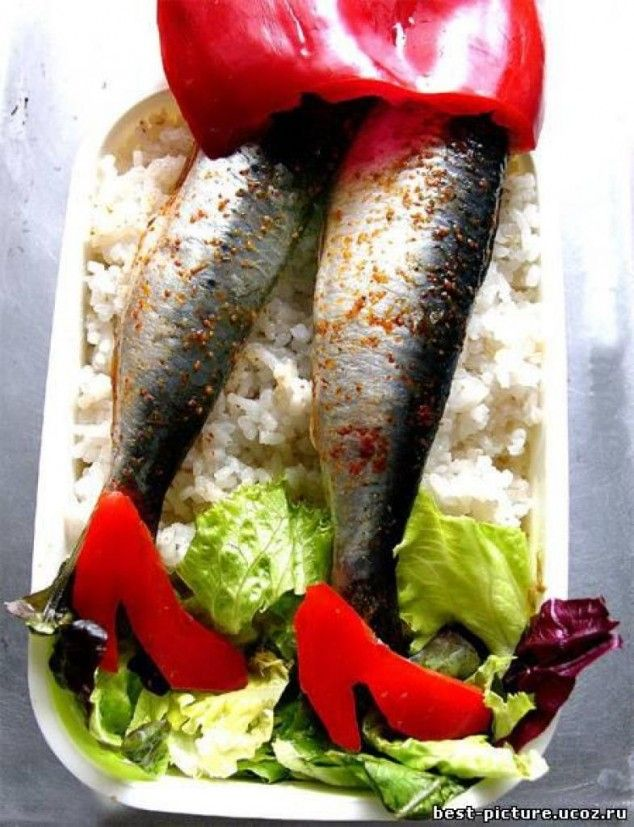 Interesting And Creative Food Decoration Ideas... hilarious!