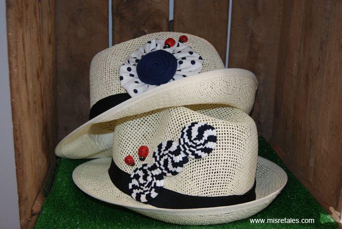 Sombreros rafia
