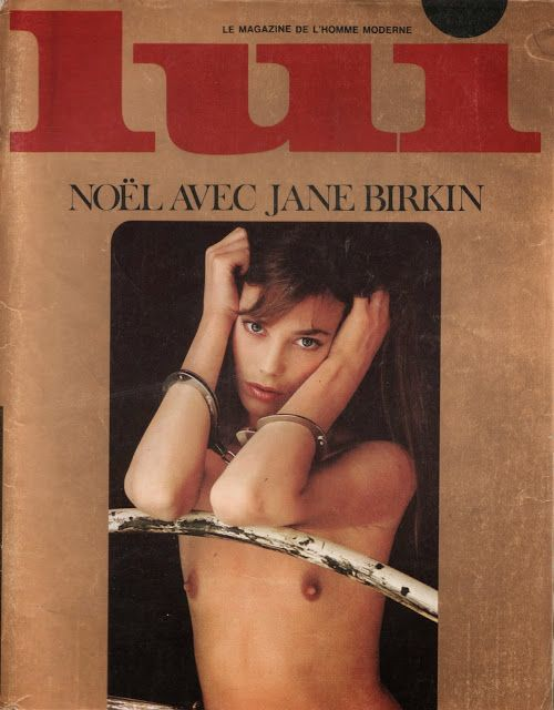 - Jane Birkin & Serge Gainsbourg dans LUI  (Décembre 1974).