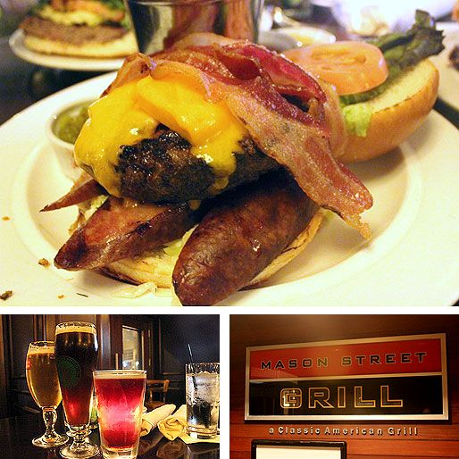 #Milwaukee: Mason Street Grill's Sunday Night Burgers Are Some of the Best Around.