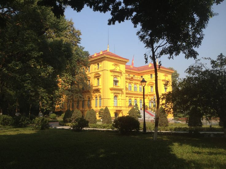 Old French government building -- Hanoi