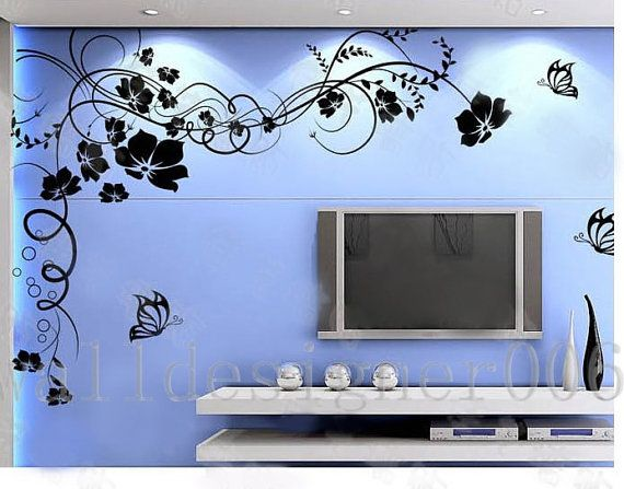 Flower Wall Decals Wall Stickers Kids Decal By Walldecals001, $50.00 Part 49