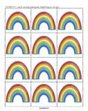 Rainbow Theme Activities for Preschool PreK and Kindergarten