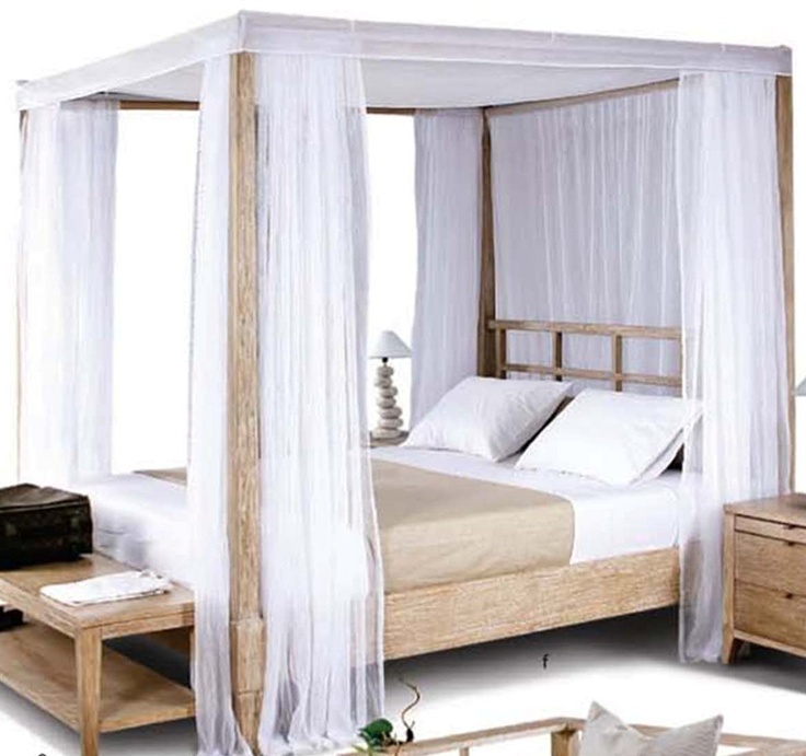 Four Poster Bed, exported to Germany.