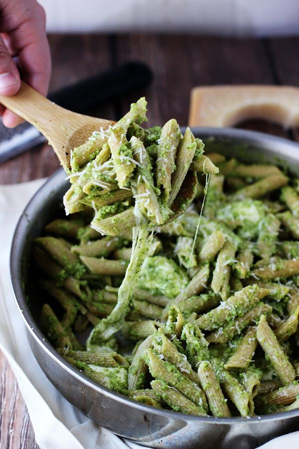 Cheesy Baked Penne With Broccoli Pesto Is the Perfect Winter Pasta Dish