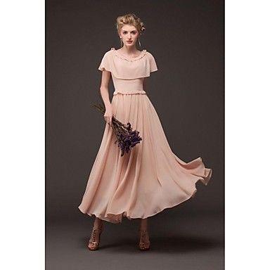 Women's Cloak of Chiffon Dress - USD $ 28.79