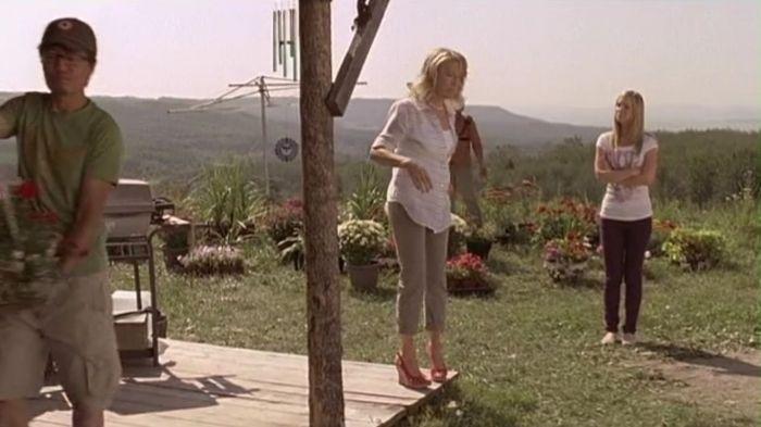 Ashley Stanton Odell (Cindy Busby) Landscaper (Ben Wong) Val Stanton (Wanda Cannon).