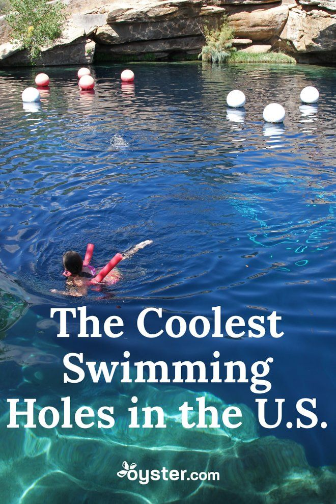 Sure, beaches bring on the gorgeous views, pools present a place to stay cool, and water parks serve up exciting rides. But swimming holes often make a bigger splash. Here, we rounded up 10 awesome swimming holes around the country, so you know where to cool down.