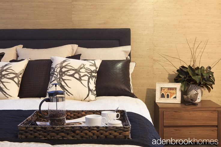 Natural Elements themed bedroom.