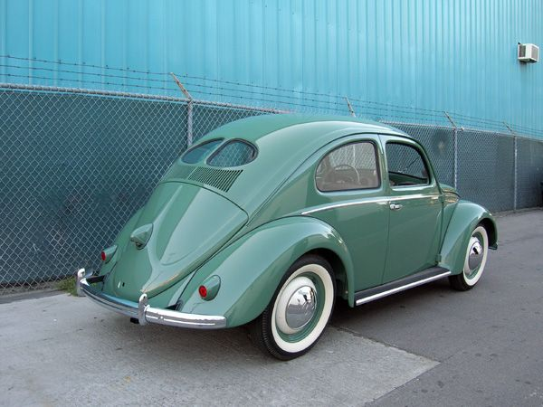 #1949 #VW Beetle #Volkswagen: Models, First Cars, Vw Beetles, Legends, Vw Bugs, Volkswagen Beetles, Colors, Rear Window, Split Window