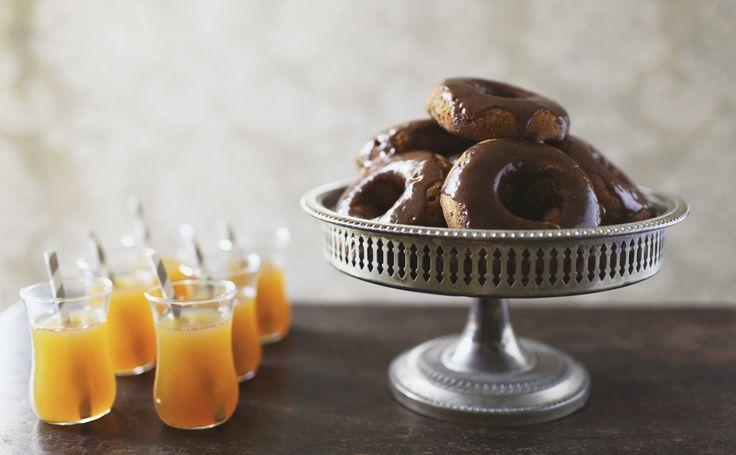 donuts pumpkin spices cinnamon butter butter glaze baking doughnuts ...