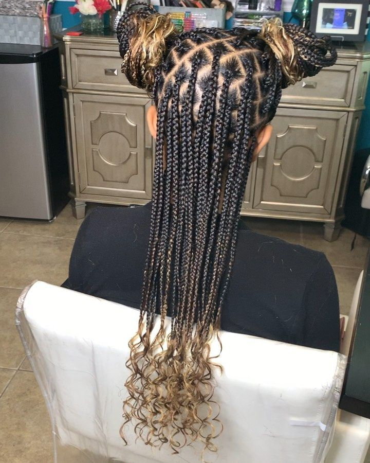 Living The Knotless Life Yet Small Kno Braided Hairstyles For Black Women Box Braids Hairstyles For Black Women Colored Box Braids Huge savings for kanekalon braiding hair 27 613. box braids hairstyles