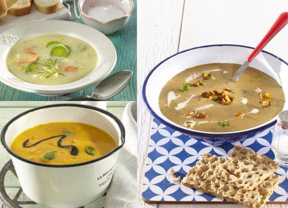 <p>Nechce se vám vařit několik chodů? Vyzkoušejte krémové polévky, které zasytí.</p>